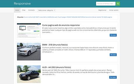 Crear web de anuncios clasificados con php - Curso completo